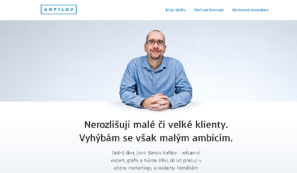 webové stránky designera