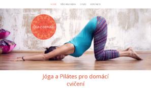web s online kurzy jógy