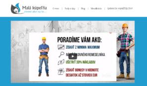 firemní web malakupelna.sk