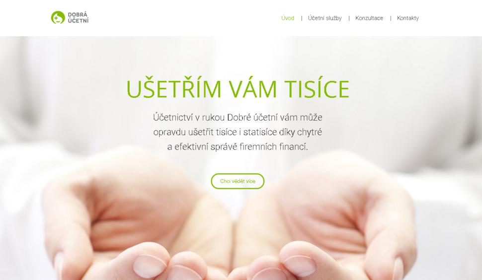 webové stránky účetní