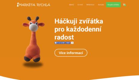 E-shop s háčkovanými zvířatky