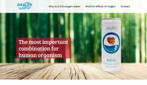 produktový web oxy life water