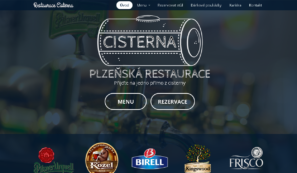 webové stránky restaurace