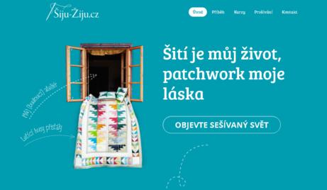 Webové stránky o patchworku