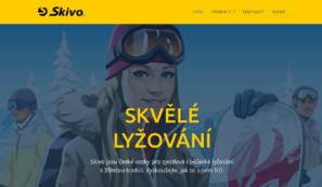 design webových stránek skivo.cz