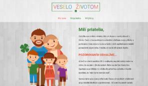 vlastní webové stránky veselozivotom.eu