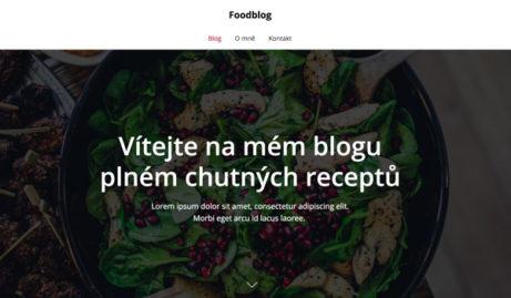 foodblog-sablona