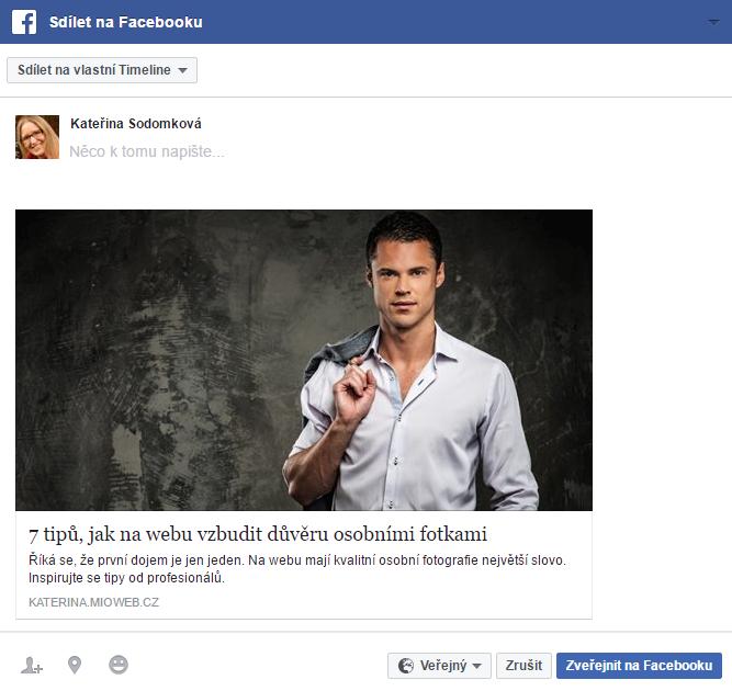 sdileni facebook
