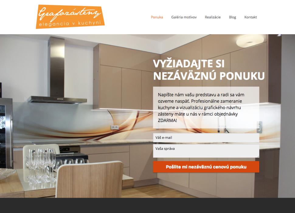 firemní web