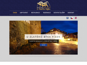 www stránky hotelu