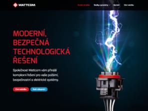 firemní web wattcom
