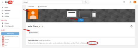 7-vzhled youtube kanálu