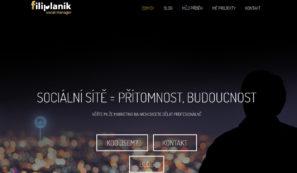osobní webové stránky online marketéra