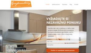 webové stránky firmy