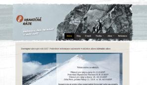 webové stránky horského průvodce