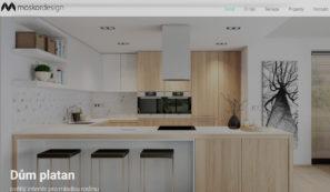 webové stránky designerské firmy