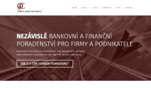 firemní webové stránky finanční poradenství