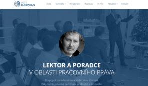 webové stránky lektora