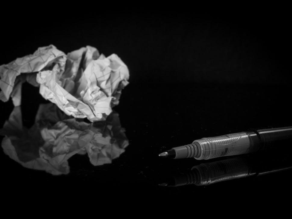 jak zničit blog post